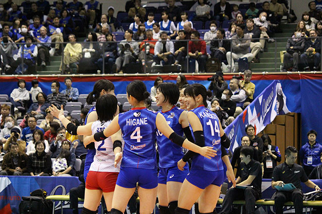 WE NEVER DROP THE BALL!「V.LEAGUE 2018-2019 DIVISION1」現地レポート